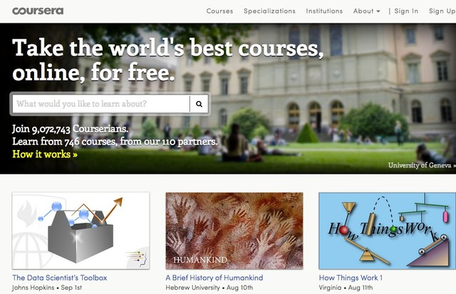 Coursera - Site For Free Online Education